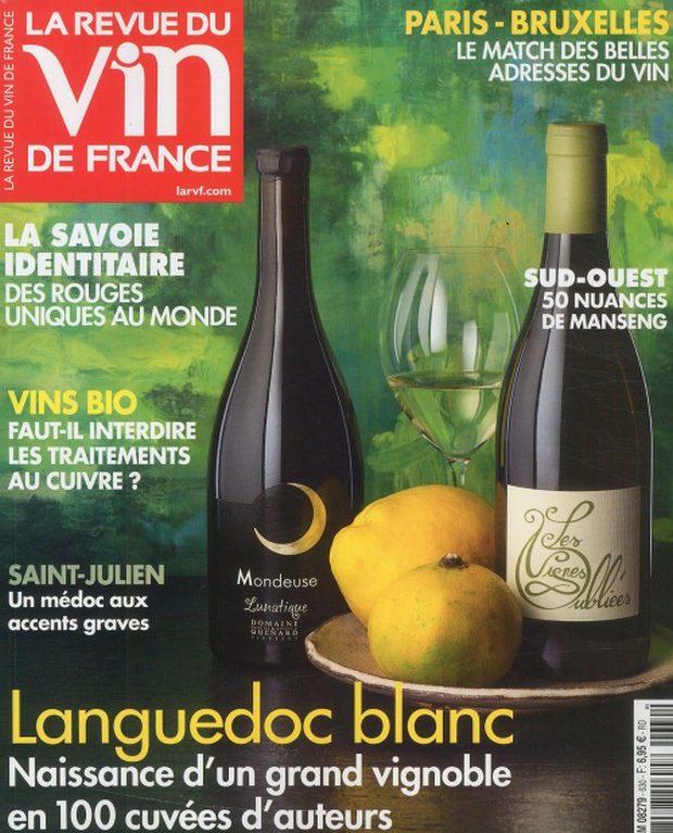 La Revue du Vin de France en Languedoc