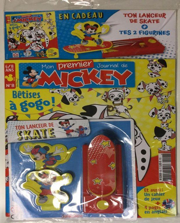 Mon Premier Journal de Mickey a du chien et fait plein de bêtises