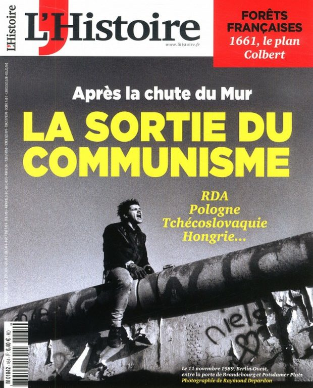 L'Histoire s'extirpe du communisme
