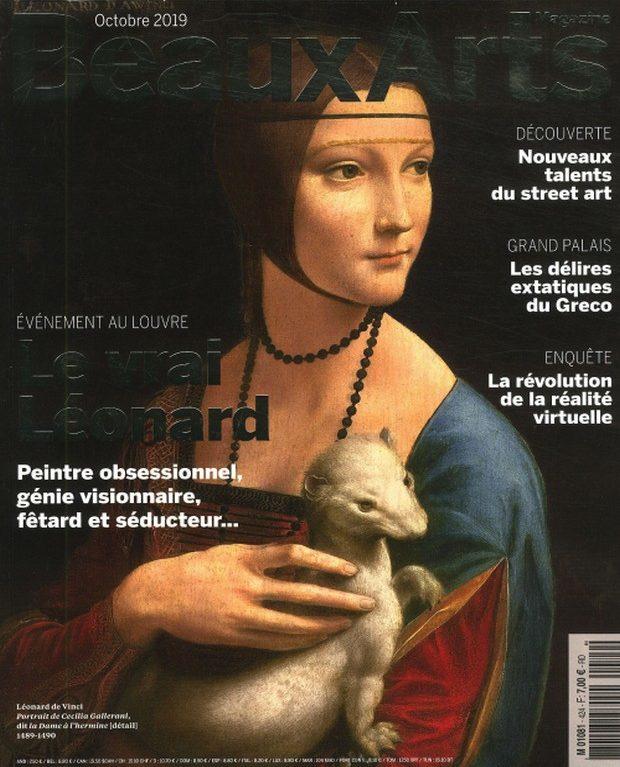 Beaux Arts enquête sur Léonard de Vinci