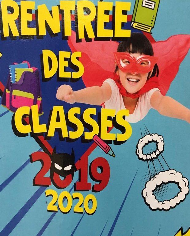 Rentrée des classes 2019