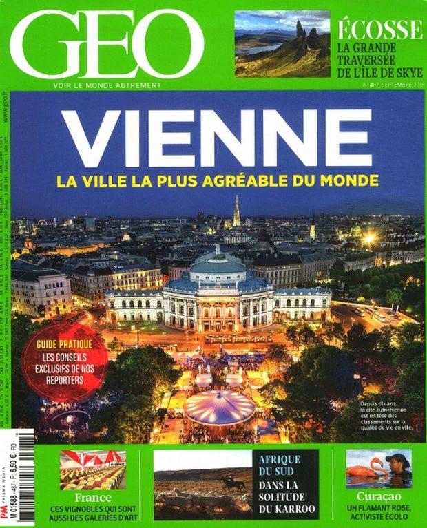 Qu'il fait bon vivre à Vienne pour GEO