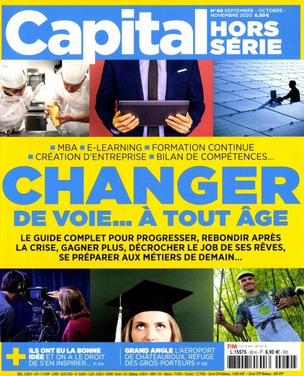 Un hors-série de Capital pour changer de voie