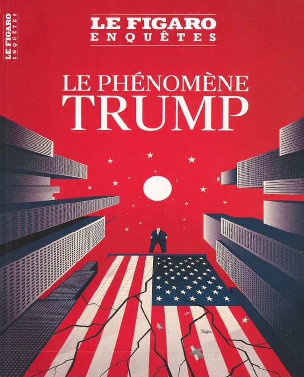 Le Figaro Enquêtes s'intéresse à Donald Trump