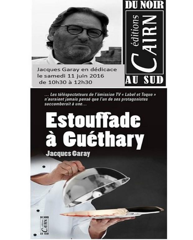 Dédicace de Jacques Garay