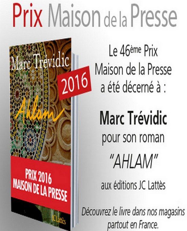 Prix Maison de la Presse 2016