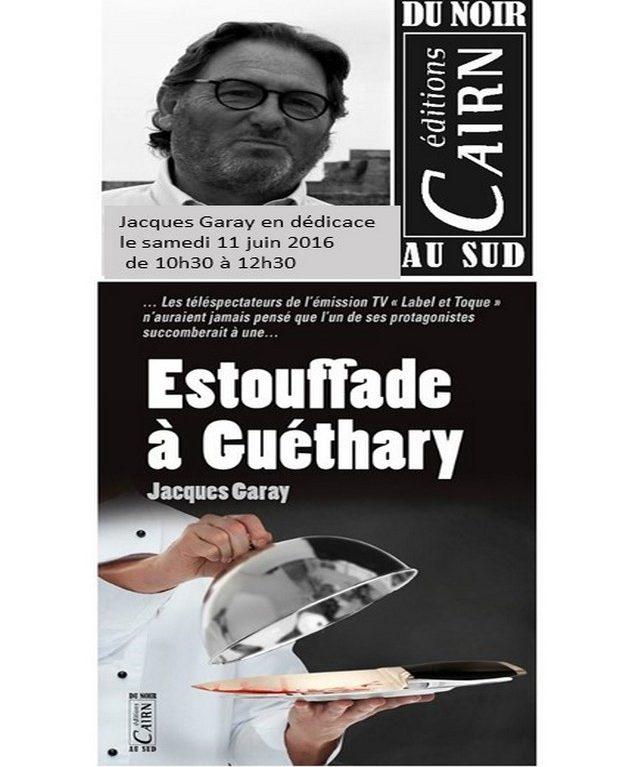 Jacques Garay en dédicace