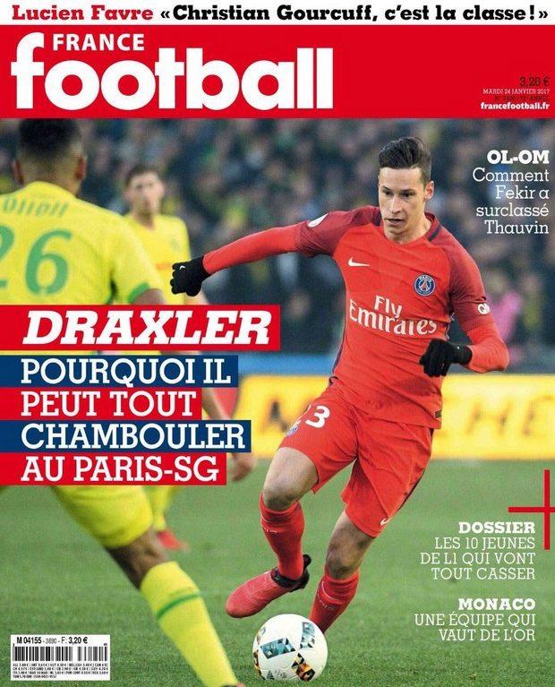 Draxler, l'homme qui bouscule le PSG