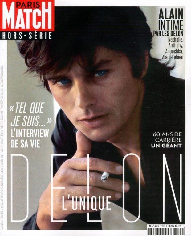 Alain Delon se confie à Paris Match