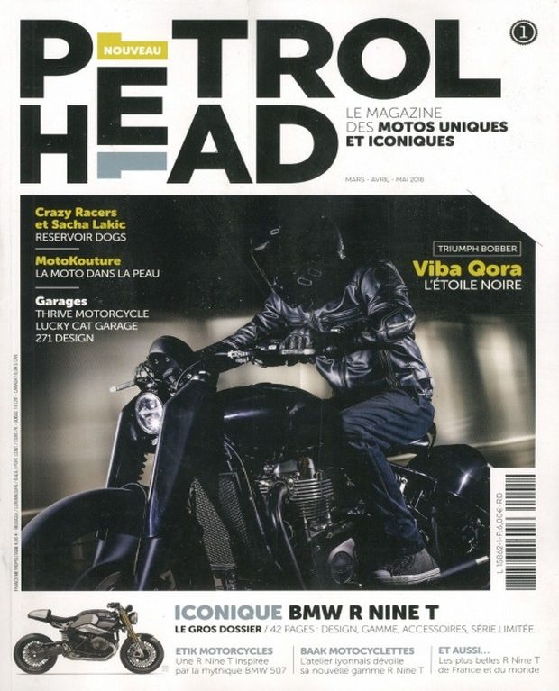 Petrol Head, le nouveau magazine des têtes brûlées du bitume