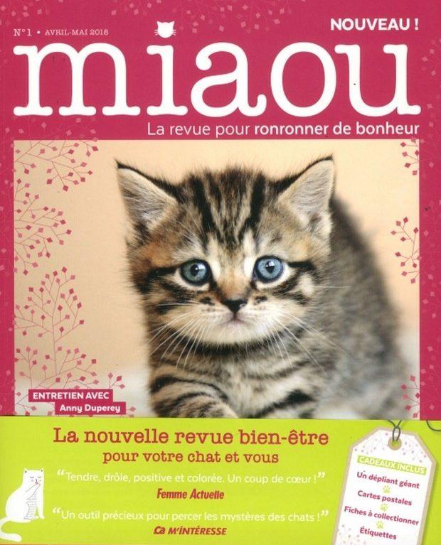 Miaou le revue pour ronronner de bonheur