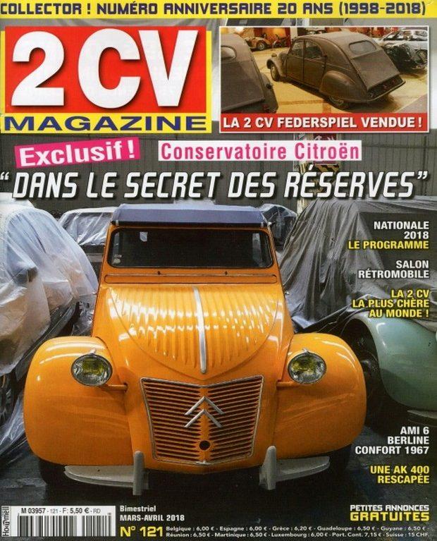 2CV Magazine fête ses 20 ans