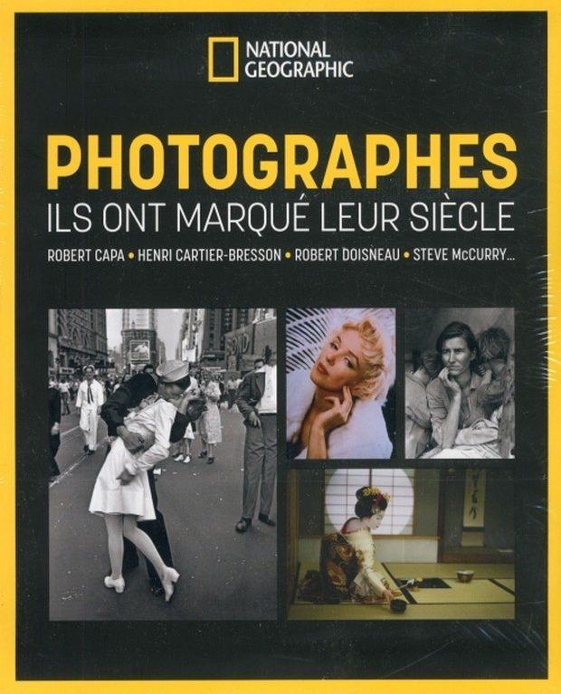 National Geographic livre les photographes du siècle