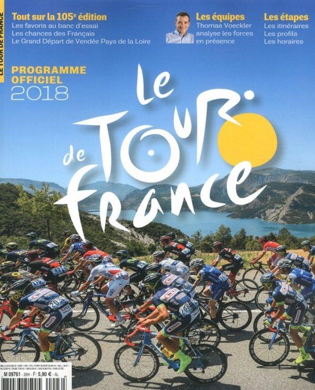 Le Tour de France le programme officiel