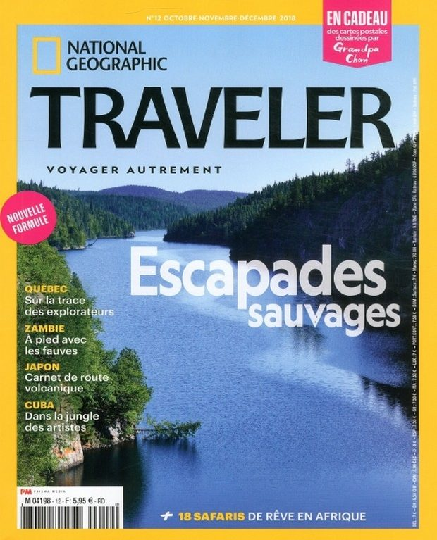 National Geographic Traveler au coeur de la nature sauvage