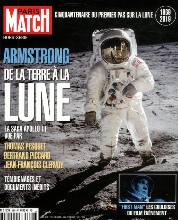 Paris Match Amstrong de la terre à la lune