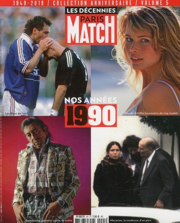 Paris Match en mode vintage