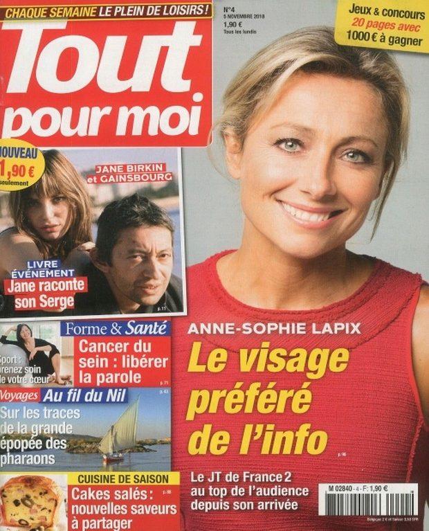 Anne-Sophie Lapix star du JT dans Tout pour moi