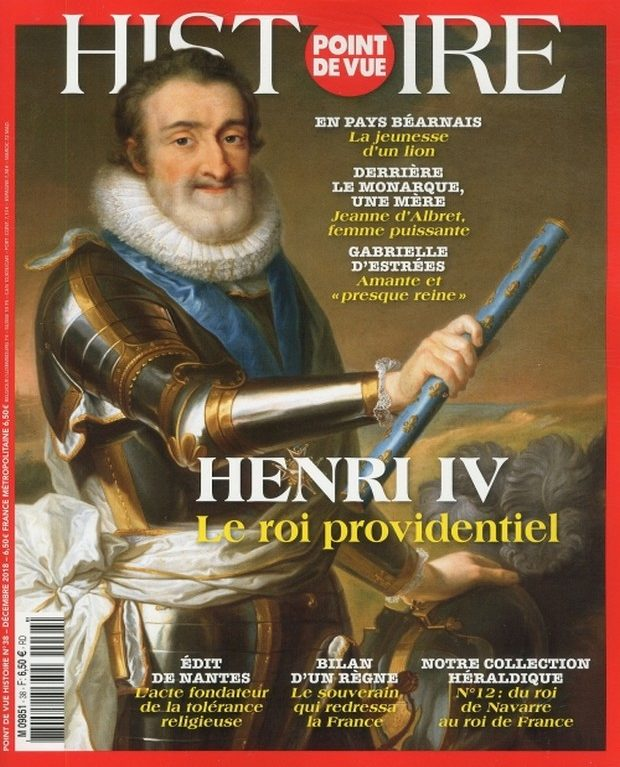 Point de Vue Histoire se penche sur les secrets d'Henri IV