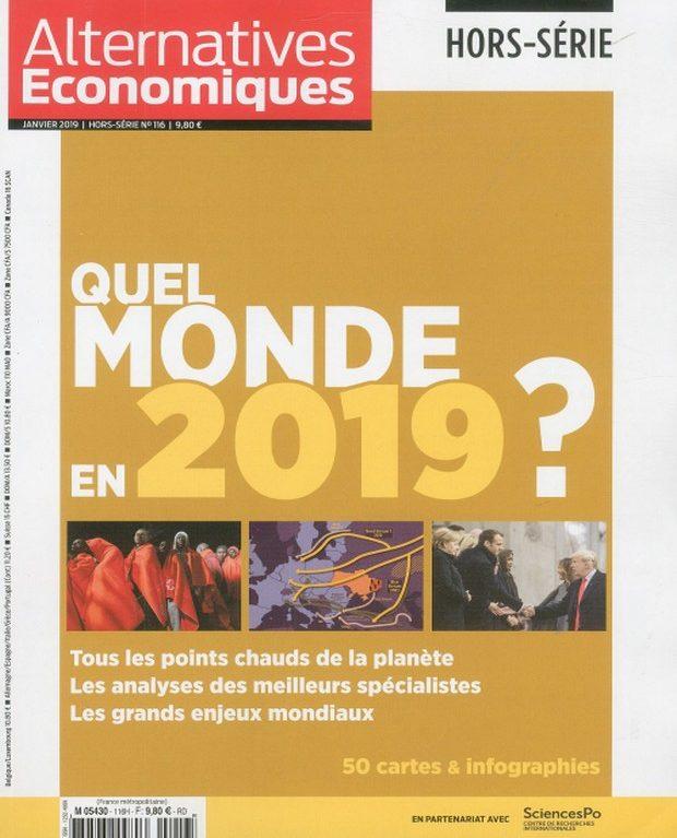 Alternatives Economiques se projette en 2019