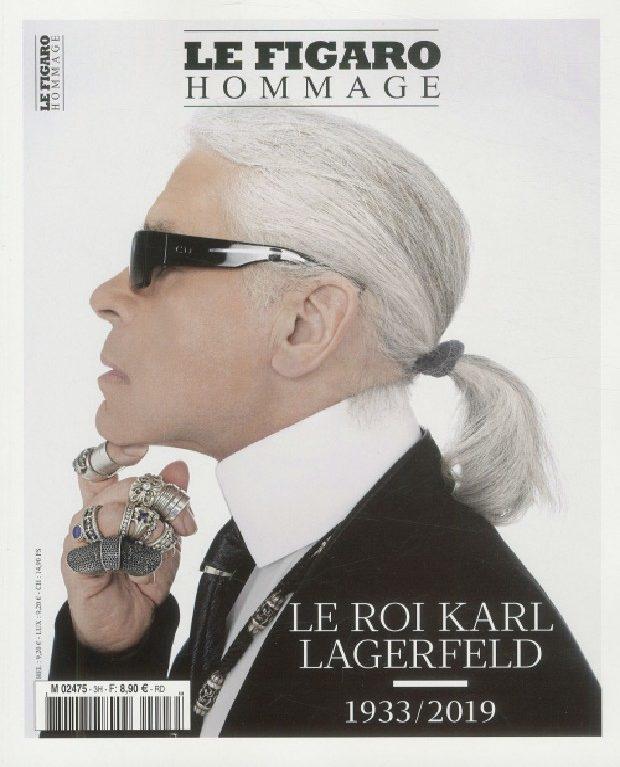 Le Figaro hors-série pleure Karl Lagerfeld