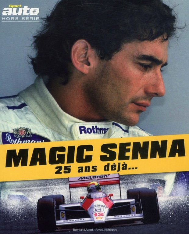 Le dernier tour de piste d'Ayrton Senna avec le hors-série de Sport Auto