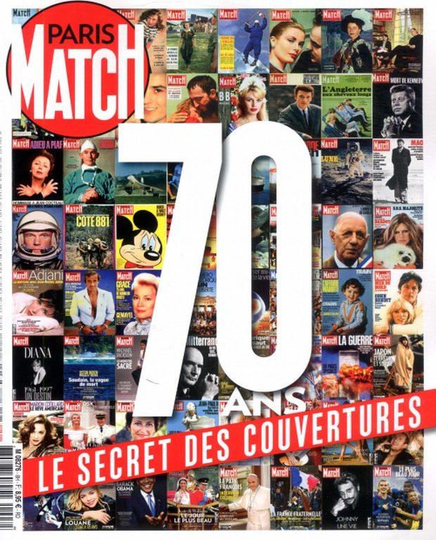 Paris Match fête ses 70 ans avec un hors-série sur ses plus belles Unes