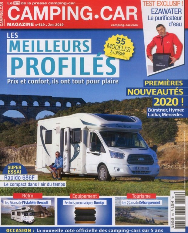 Camping-Car Magazine a un bon profil