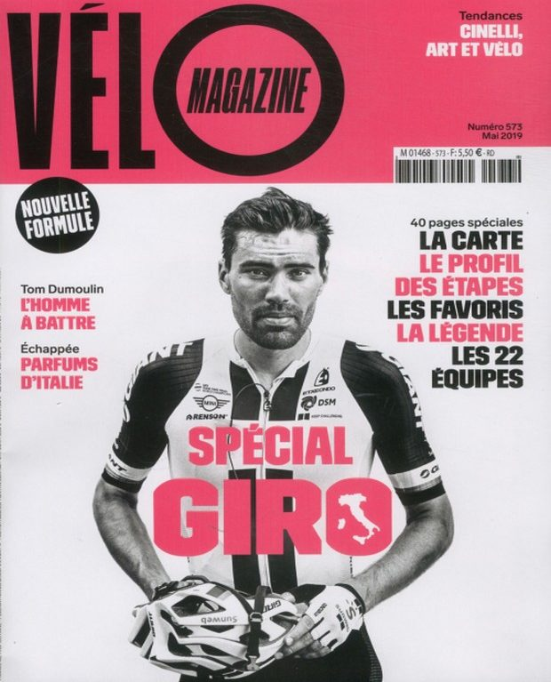 Vélo Magazine se revêt de rose