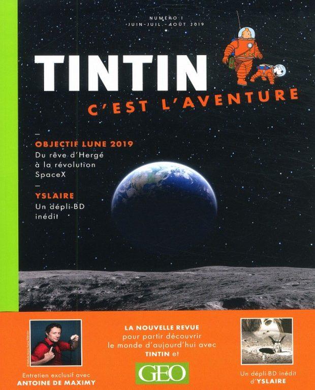 Tintin reprend du service