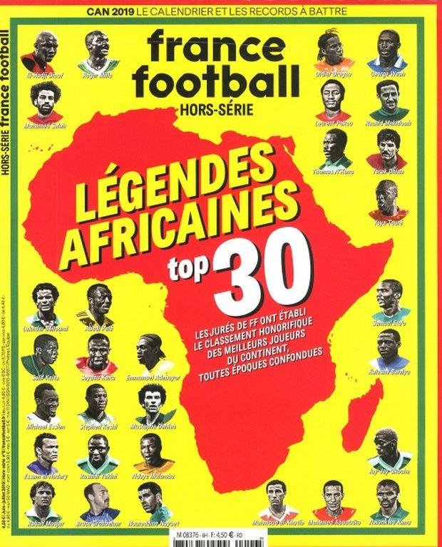 France Football et les légendes d'Afrique