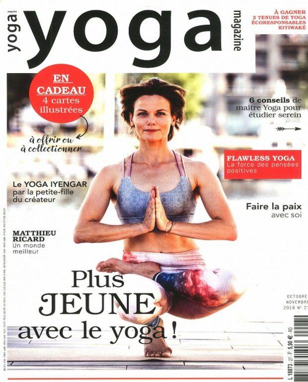 Yoga Magazine rend plus jeune