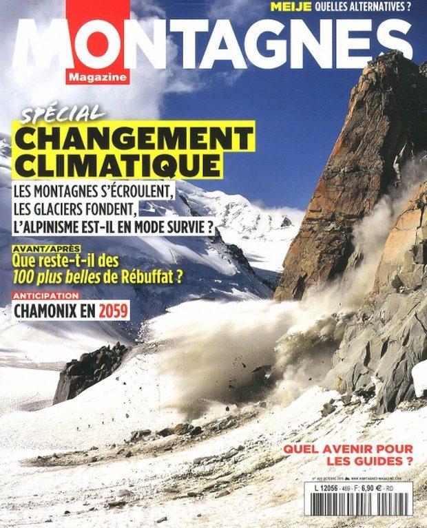 Montagnes Magazine enquête sur ce qu'il reste du patrimoine des glaces