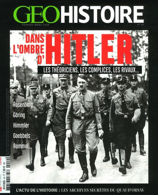 GEO Histoire s'intéresse à Hitler