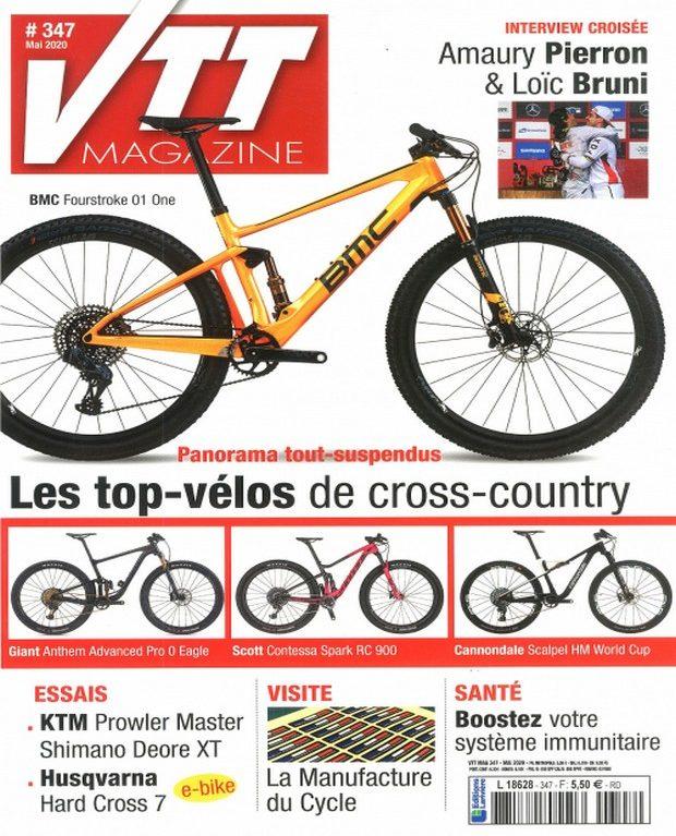 VTT Magazine descend à fond la caisse