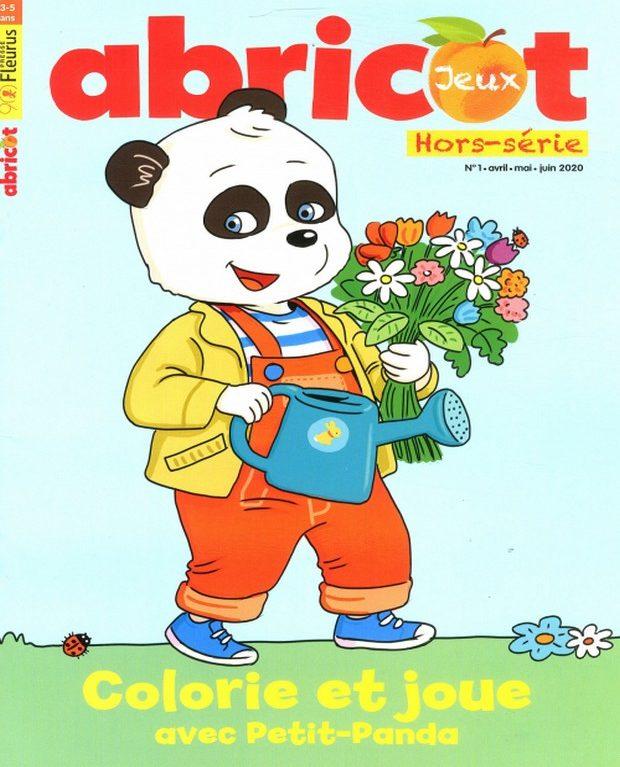 Petit-Panda revient dans le tout nouveau hors-série d'Abricot Jeux