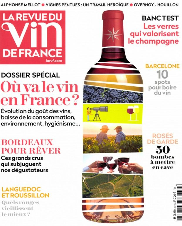 La Revue du Vin de France enquête sur la route du vin