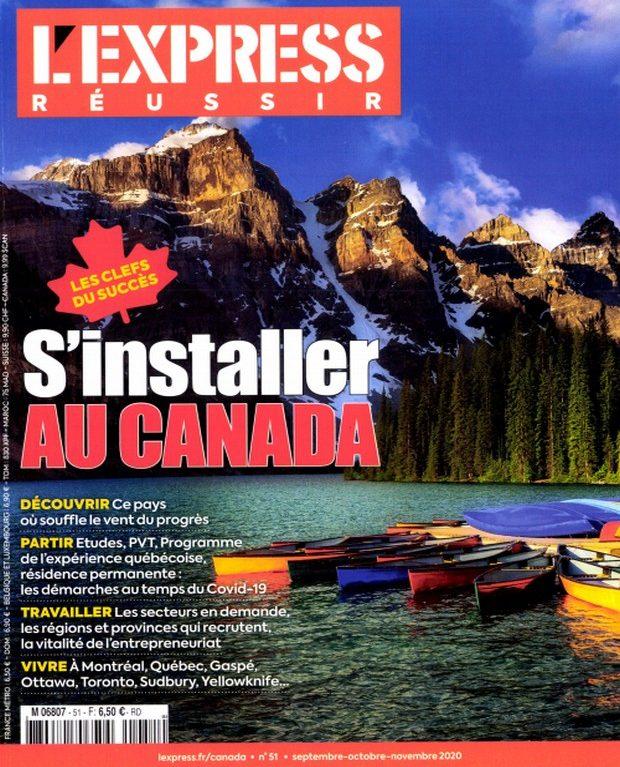 L'Express Réussir repart une nouvelle fois au Canada